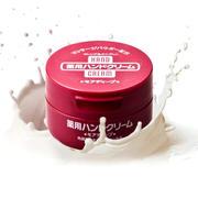 日本资生堂护手霜红罐100g 保湿美润补水滋润弹力尿素